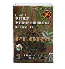 Flora Pure Peppermint Herbal Tea