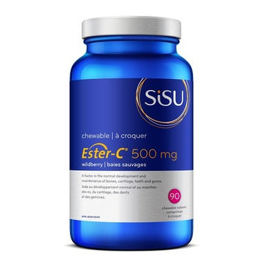 Sisu Ester-C 500 mg Wildberry Chewable
