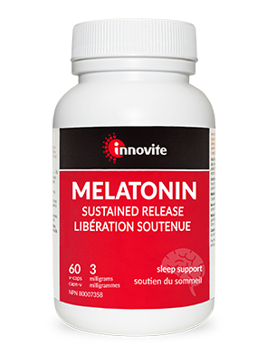 Innovite Melatonin 3 mg Timed Release