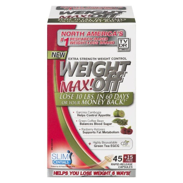 Nuvocare Health Sciences Weight Off Max