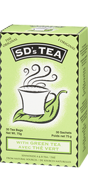 Platiunum Naturals SD's Tea Sennoside A & B Tea With Green Tea