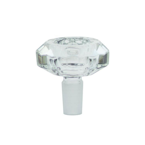 18mm Glass Bowl Diamond Series - Dank Riot