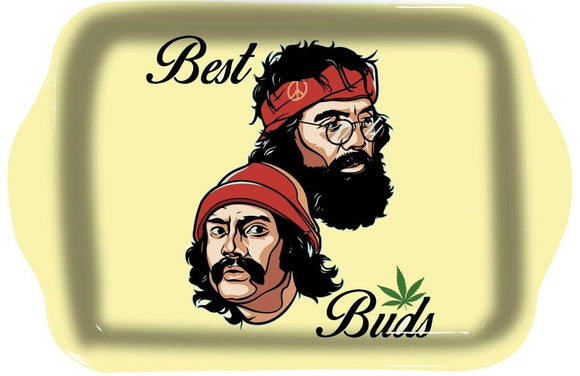 Cheech and Chong Best Buds Rolling Tray - Dank Riot