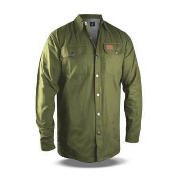 No Bad Ideas Apparel McClane Canvas Jacket (Olive) - Dank Riot