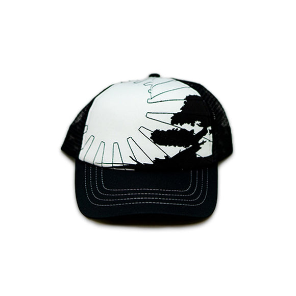 No Bad Ideas - Snapback Trucker Cap - Jacobs (BlkWhite/Sun) - Dank Riot