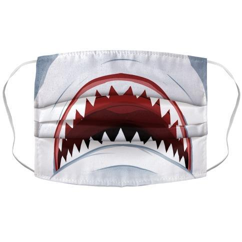 Shark Mouth Face Mask Cover - Dank Riot