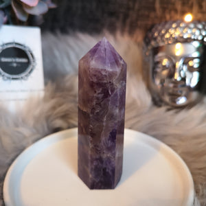 Dream Amethyst Wand Point