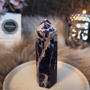 Sodalite Wand Point