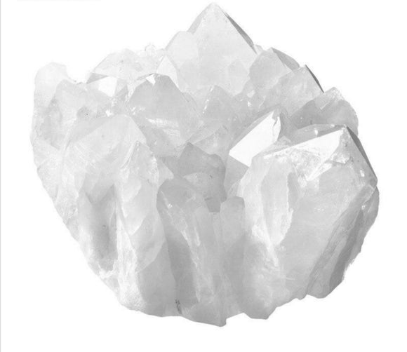 Clear Quartz Natural Crystal Cluster