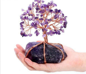 Amethyst Natural Crystal Tree of Life