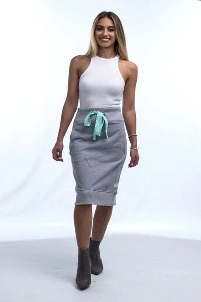 Office Supply Sweatshirt Skirt