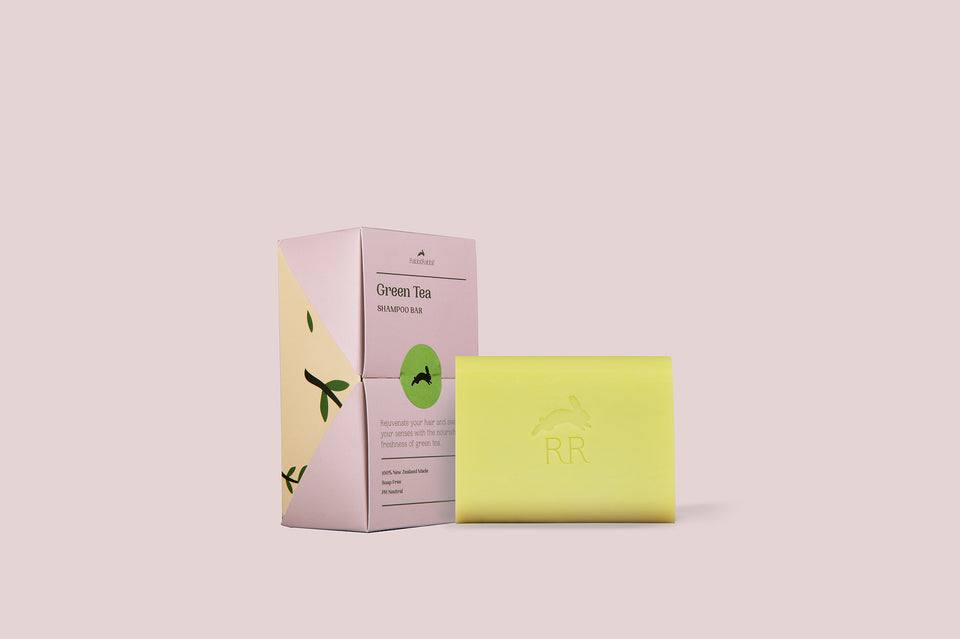 Green Tea Shampoo Bar - RabbitRabbit NZ