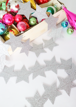 Load image into Gallery viewer, DIY Glitter Star Bunting Kit - Multiple Colours Available