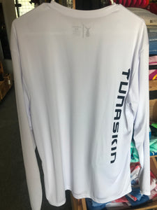 TUNASKIN Long Sleeve White Performance Shirt