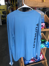 Load image into Gallery viewer, TUNASKIN Long Sleeve Blue Performance Shirt
