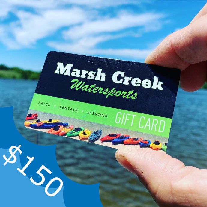 $150 Marsh Creek Water Sports Gift Card