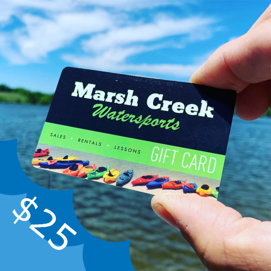$25 Marsh Creek Water Sports Gift Card