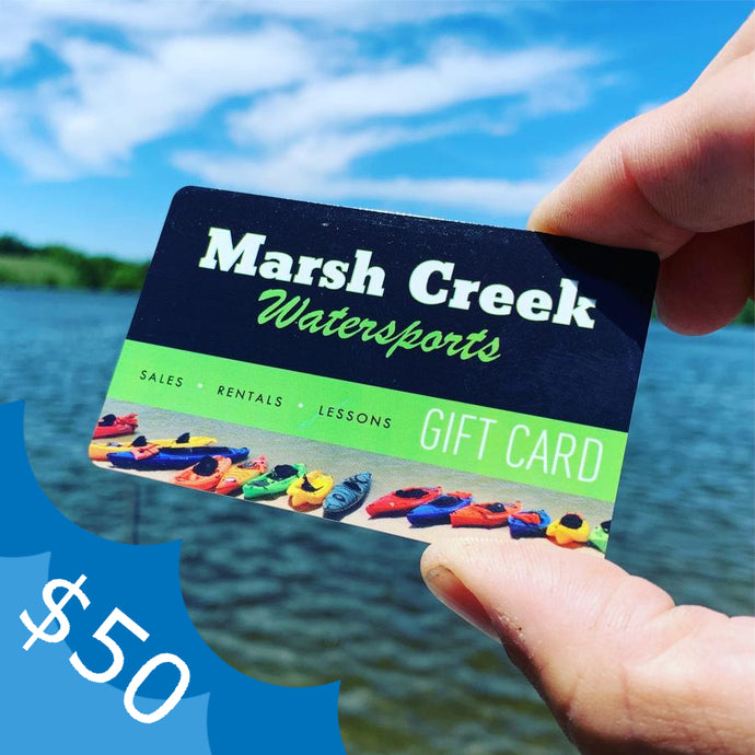 $50 Marsh Creek Water Sports Gift Card