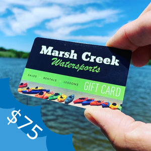 $75 Marsh Creek Water Sports Gift Card
