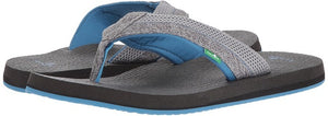 Sanuk-Men's Beer Cozy 2 Mesh-Blue/Grey