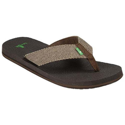 Sanuk-Men's Yogi 4 Brown