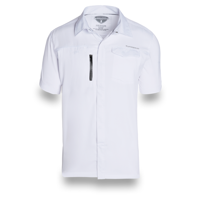 TUNASKIN Ahi One Short Sleeve Performance Shirt