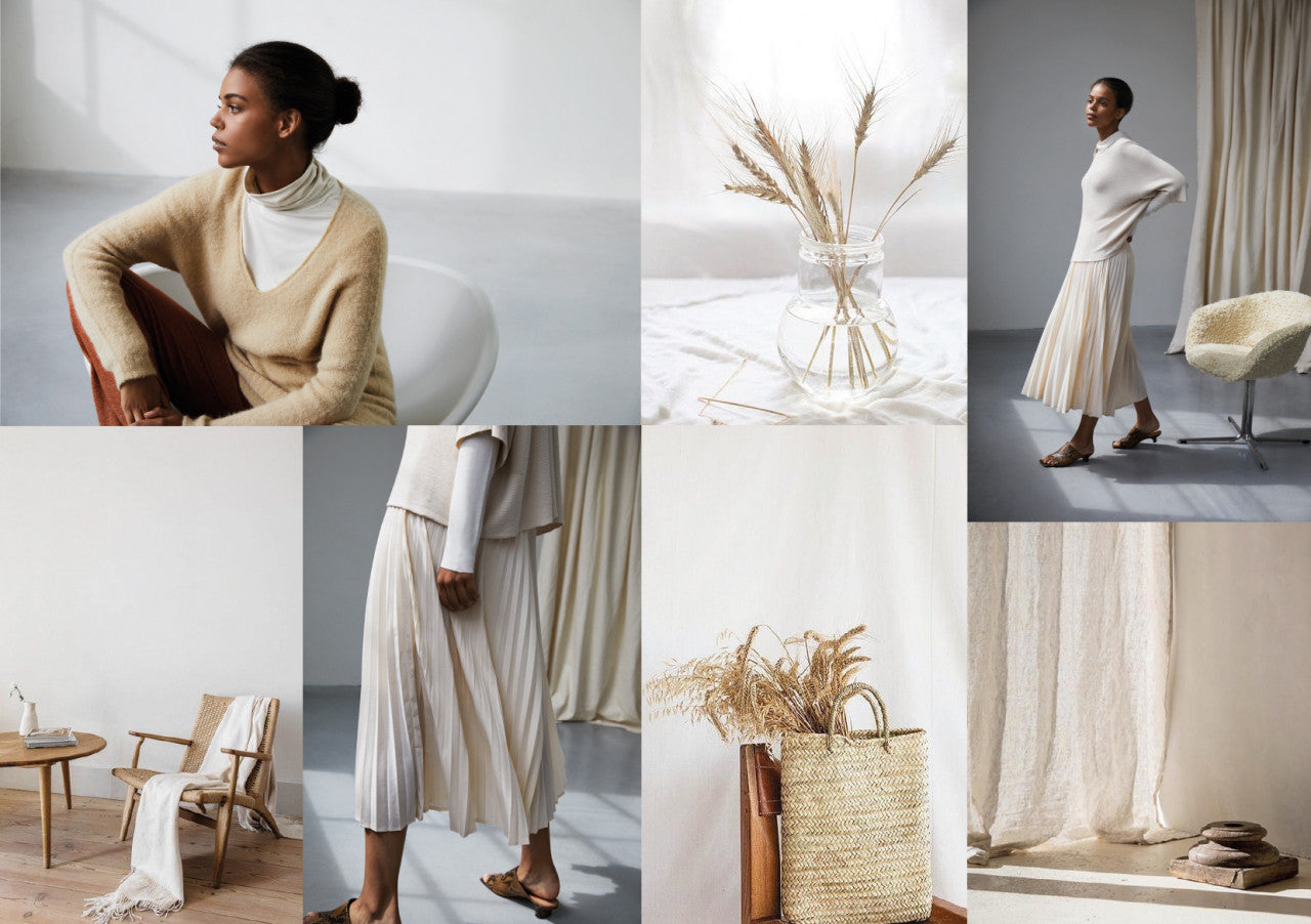 MOOD BOARD SUSTAINABLE CONCIOUS LIVING - SULUU.STORE