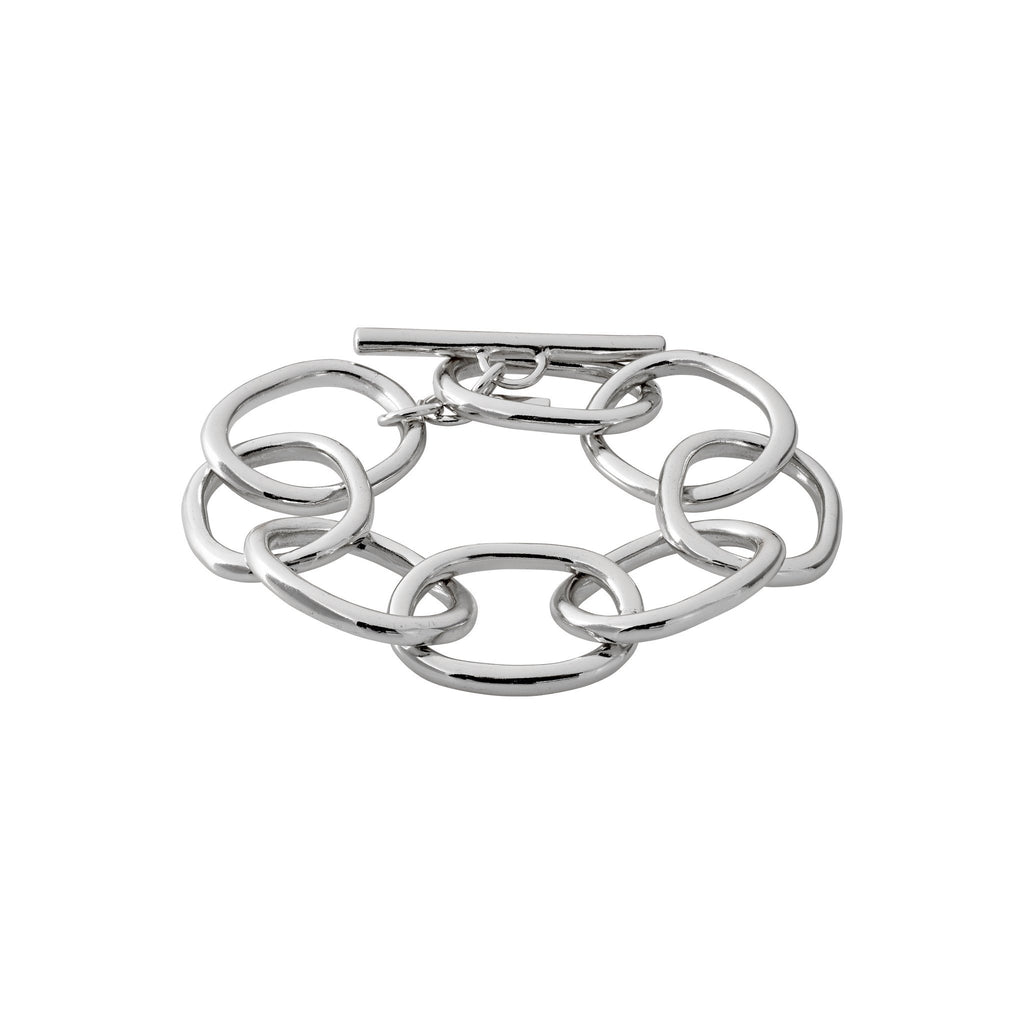 Pilgrim Air Silver Plated Bracelet