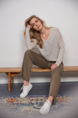 Pexie Hose in Khaki - Suluu
