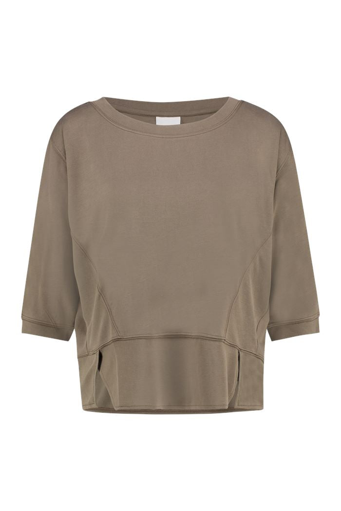 Thunder Top 3/4 in Khaki - Suluu