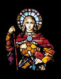 Joan of Arc Stained Glass - Diamond Painting - diamond-painting-bliss.myshopify.com