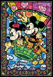 Mickey & Minnie Mouse with their Dog - DIY Painting - diamond-painting-bliss.myshopify.com