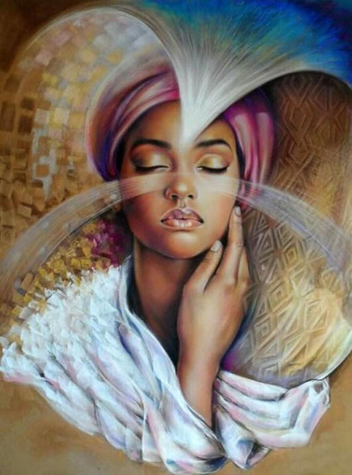 African Beauty by Emilia Wilk - diamond-painting-bliss.myshopify.com