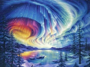 Aurora Borealis Northern Lights - diamond-painting-bliss.myshopify.com