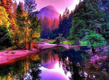 Beautiful Lake & Colorful Forest View - diamond-painting-bliss.myshopify.com