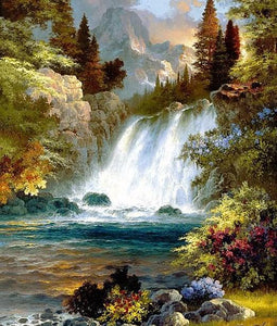 Best Waterfall Diamond Painting - diamond-painting-bliss.myshopify.com