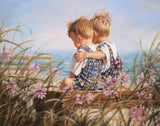 Brothers Love - Paint by Diamonds - diamond-painting-bliss.myshopify.com
