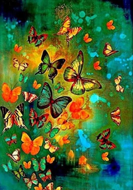 Butterfly Kingdom - Paint with Diamonds - diamond-painting-bliss.myshopify.com