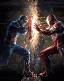 Captain America & Iron Man - diamond-painting-bliss.myshopify.com