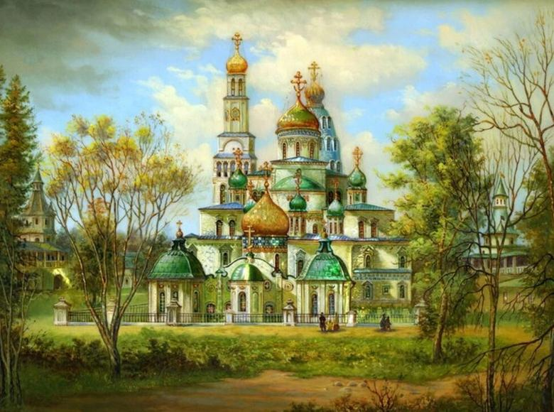 Castle - Diamond Painting - diamond-painting-bliss.myshopify.com