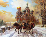 Castle & Horse Carriage - diamond-painting-bliss.myshopify.com