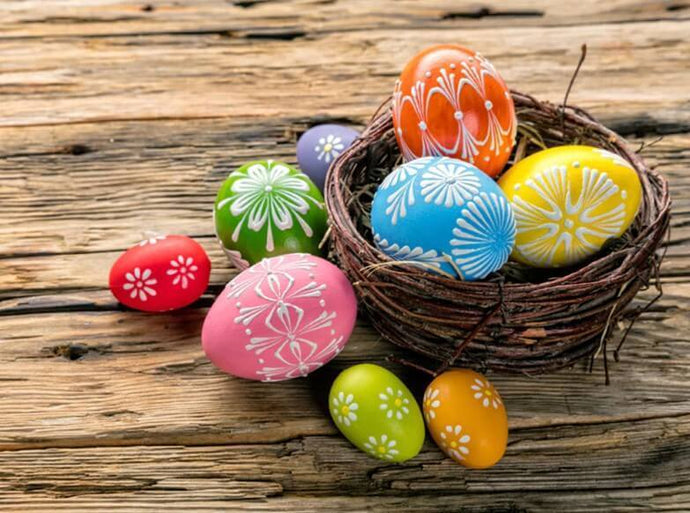 Colorful Easter Eggs - diamond-painting-bliss.myshopify.com