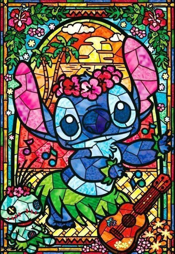 Disney Stained Glass - DIY Diamond Painting Kit - diamond-painting-bliss.myshopify.com