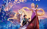 Disneyland Tangled Paint by Diamonds - diamond-painting-bliss.myshopify.com