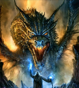 Game of Thrones - Dragon Face - diamond-painting-bliss.myshopify.com