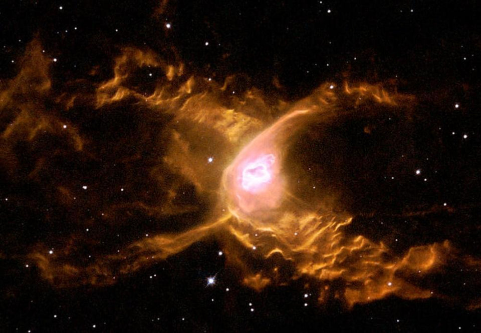 Web Spins into Giant Red Spider Nebula - diamond-painting-bliss.myshopify.com