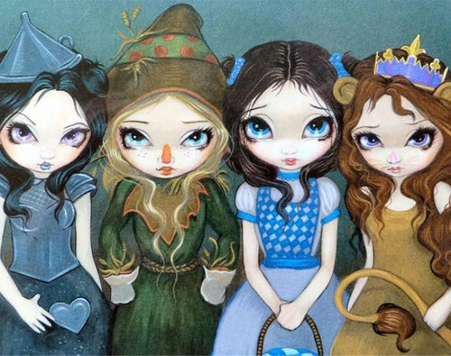 Jasmine Becket Griffith Wizard of OZ - diamond-painting-bliss.myshopify.com