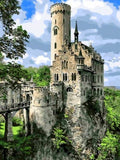 Lichtenstein Castle - diamond-painting-bliss.myshopify.com