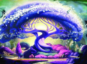 Magical Tree - Paint with Diamonds - diamond-painting-bliss.myshopify.com