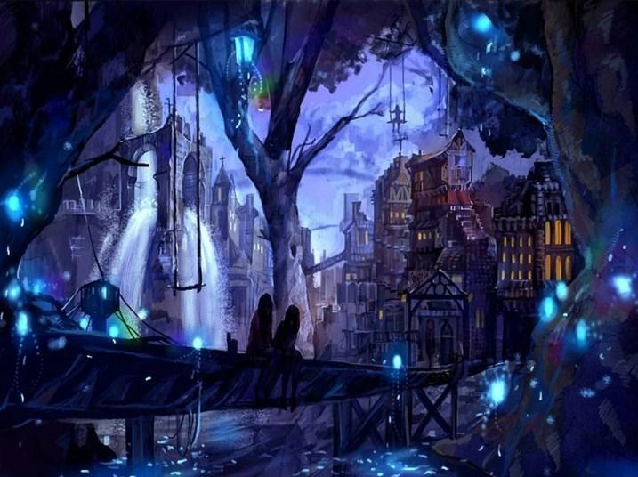 Mesmerizing City at Night - Paint with Diamonds - diamond-painting-bliss.myshopify.com